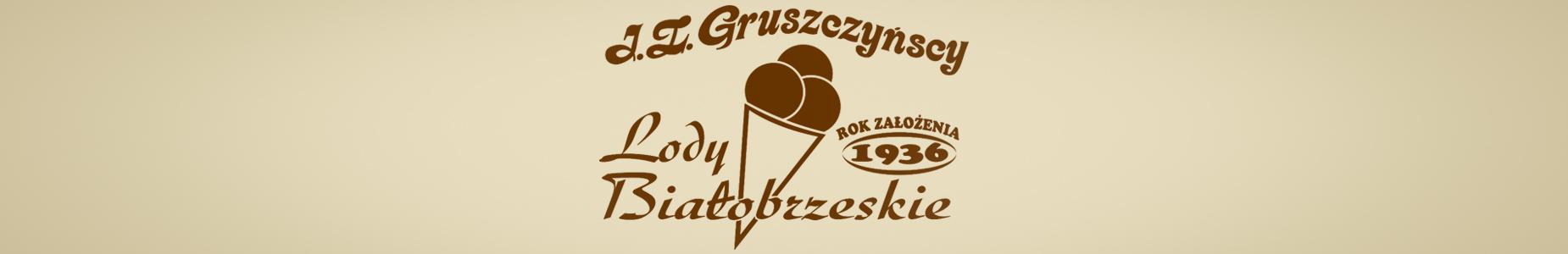 Naturalne Lody Białobrzeskie J.Z. Gruszczyńscy 1936